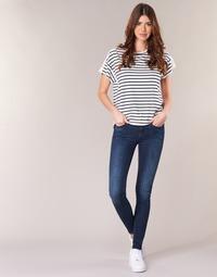 Clothing Women Skinny jeans G-Star Raw MIDGE ZIP MID SKINNY Neutro