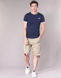 Clothing Men Shorts / Bermudas G-Star Raw ROVIC ZIP LOOSE 1/2 Beige