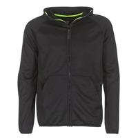 Clothing Men sweaters G-Star Raw STRETT SLIM HOODED ZIP THRU SW L/S Black