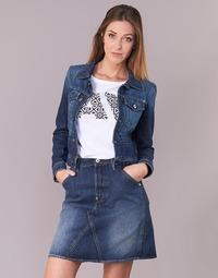 Clothing Women Denim jackets G-Star Raw D-STAQ S DC DNM JKT WMN Medium / Aged