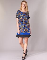 Clothing Women Short Dresses Molly Bracken JUNCE Blue