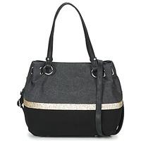 Bags Women Small shoulder bags Fuchsia GAUTIER 6 Black