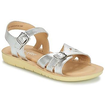 Shoes Girl Sandals Start Rite SR SOFT HARPER Silver
