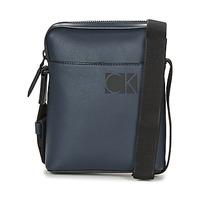 Bags Men Pouches / Clutches Calvin Klein Jeans HI-PROFILE MINI REPORTER Marine