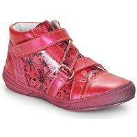 Shoes Girl Hi top trainers GBB RADEGONDE Pink