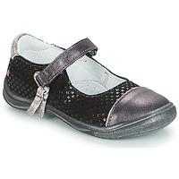 Shoes Girl Flat shoes GBB RIKA Grey / Black