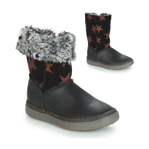 Shoes Girl High boots GBB DUBROVNIK Black