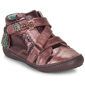 Shoes Girl Mid boots Catimini ROQUETTE Bordeaux
