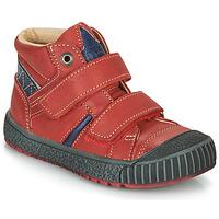 Shoes Boy Mid boots Catimini RAIFORT Red