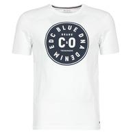 Clothing Men short-sleeved t-shirts Esprit GRAHAM White