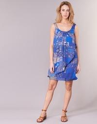 Clothing Women Short Dresses Desigual OFFOELA Blue