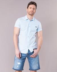 Clothing Men short-sleeved shirts Kaporal LOGIK Blue
