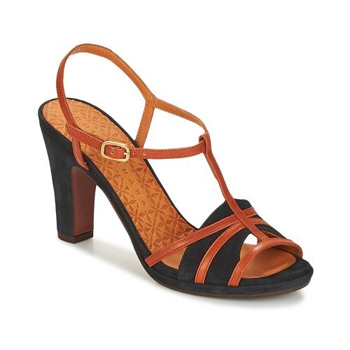 Shoes Women Sandals Chie Mihara AIDONA Navy / Brown