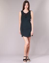 Clothing Women Short Dresses Banana Moon ELEANOR MAKENNA Black