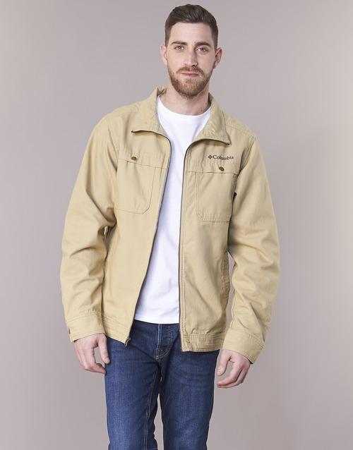 Clothing Men Jackets Columbia TOLMIE BUTTE JACKET Beige