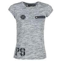 Clothing Women short-sleeved t-shirts Philipp Plein Sport SITTIN OVER HERE Grey