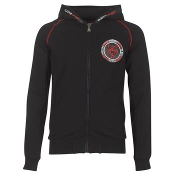 Clothing Men sweaters Philipp Plein Sport FLY HIGH Black