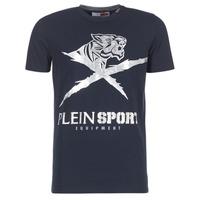 Clothing Men short-sleeved t-shirts Philipp Plein Sport BORIS Marine / Silver