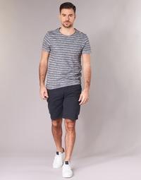 Clothing Men Shorts / Bermudas Schott TROLIMPO30 Marine