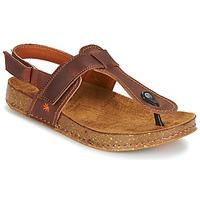 Shoes Women Sandals Art WE WALK Brown