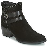 Shoes Women Ankle boots Tamaris ABERBER Black