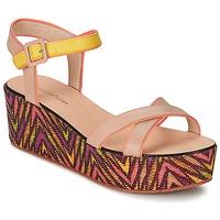 Shoes Women Sandals Paul & Joe Sister JENI BEIGE / Multicoloured