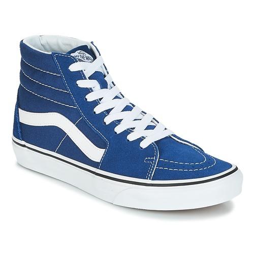 Shoes Hi top trainers Vans SK8-Hi Estate / Blue / True / White