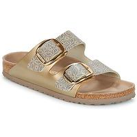Shoes Women Mules Birkenstock ARIZONA BIG BUCKLE Gold