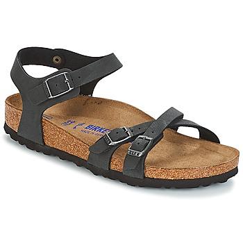 Shoes Women Sandals Birkenstock KUMBA SFB Black