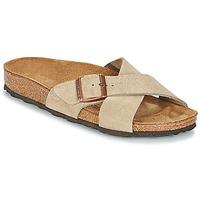 Shoes Women Mules Birkenstock SIENA Taupe