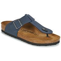 Shoes Men Flip flops Birkenstock MEDINA Blue