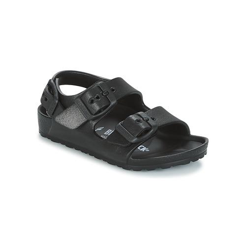 Shoes Boy Sandals Birkenstock MILANO-EVA Black