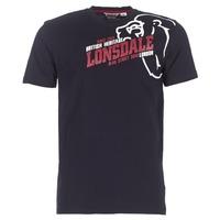 Clothing Men Short-sleeved t-shirts Lonsdale WALKLEY Black