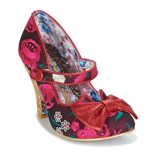 Shoes Women Heels Irregular Choice FANCY THIS Pink