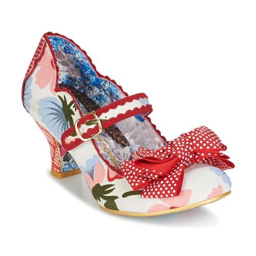 Shoes Women Heels Irregular Choice BALMY NIGHTS White / Red
