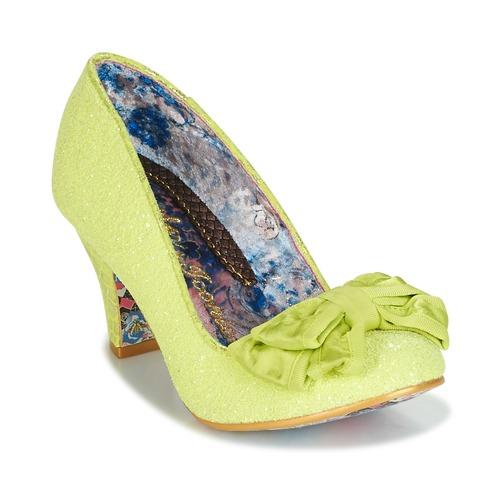 Shoes Women Heels Irregular Choice BANJOE Yellow
