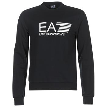 Clothing Men sweatpants Emporio Armani EA7 TRAIN VISIBILITY Black
