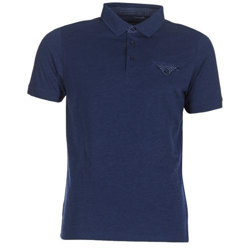Clothing Men short-sleeved polo shirts Casual Attitude ITATATO Blue