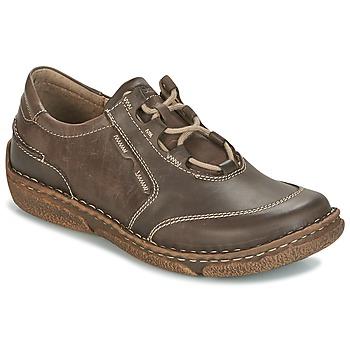 Shoes Women Derby Shoes Josef Seibel NEELE 28 Brown / Green