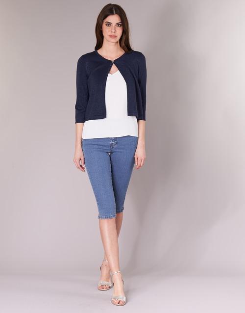 Clothing Women Cropped trousers Vero Moda VMHOTSEVEN Blue