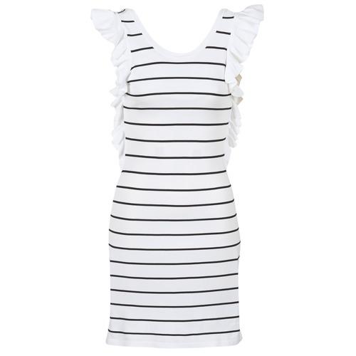 Clothing Women Short Dresses Vero Moda VMABHY White / Black