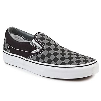 Shoes Slip-ons Vans CLASSIC SLIP ON Black / Grey