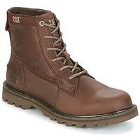 Shoes Men Mid boots Caterpillar SWINGSHIFT Brown