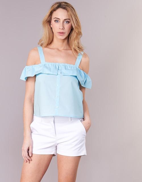 Clothing Women Tops / Blouses Moony Mood IFARANDOL Blue