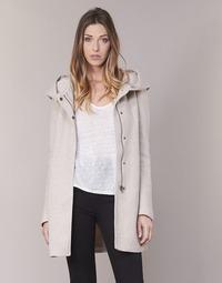 Clothing Women coats Only SEDONA Beige