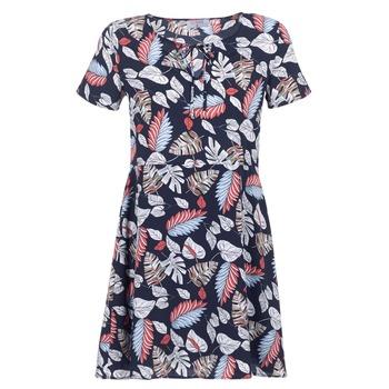 Clothing Women Short Dresses Casual Attitude IYURTOLAL Blue