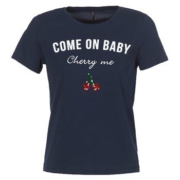 Clothing Women short-sleeved t-shirts Only KITA Marine