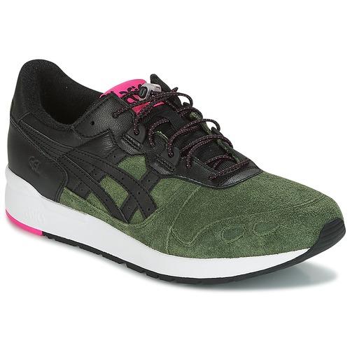 Shoes Men Low top trainers Asics GEL-LYTE Black / Kaki