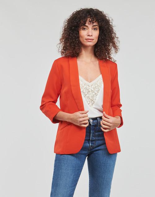 Clothing Women Jackets / Blazers Betty London IOUPA Red