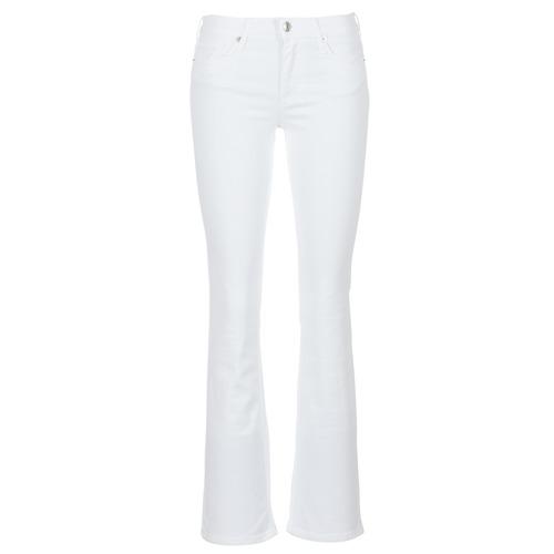 Clothing Women bootcut jeans Moony Mood IALOLAO White